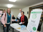 Community Club members give away CFLs